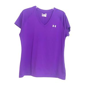 Under Armour Large Semi Fitted Short Sleeve Shirt